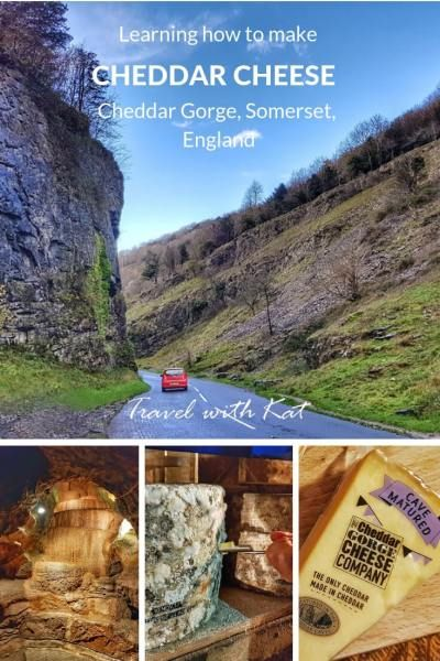 Studying methods to make cheddar cheese in Cheddar Gorge