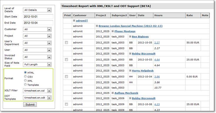 timesheet - Recherche Google