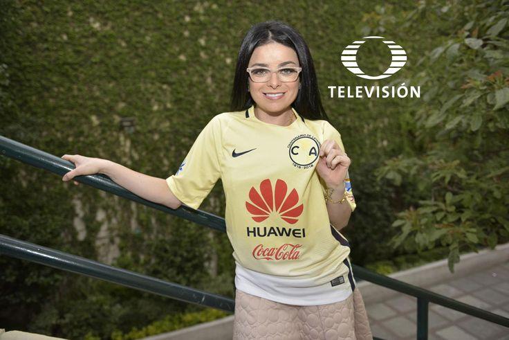 Varias celebridades se unieron para celebrar el Centenario del Club América, poniéndose la playera del equipo