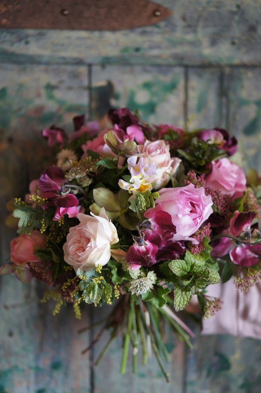 deuxR - Natural Flower - ドライフラワー教室・アレンジ販売・ワークショップ・アベイユフルール・蜜蝋花: ローランボーニッシュ 毎月のお楽しみ♪