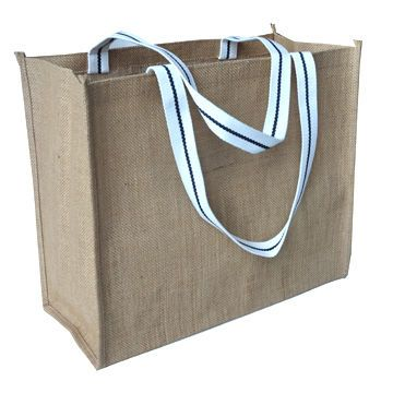 Jute Fabric Shopping with Handles