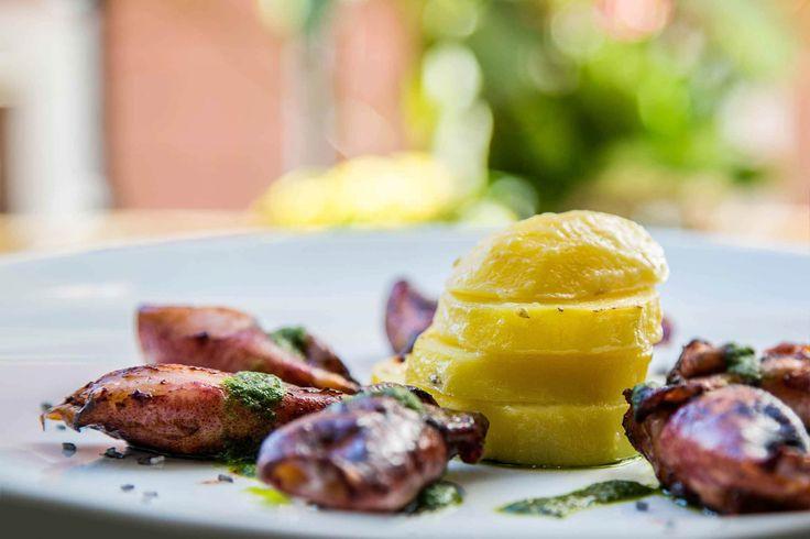 Gastronomía de La Senda de Xiquena, restaurante en el centro de Madrid