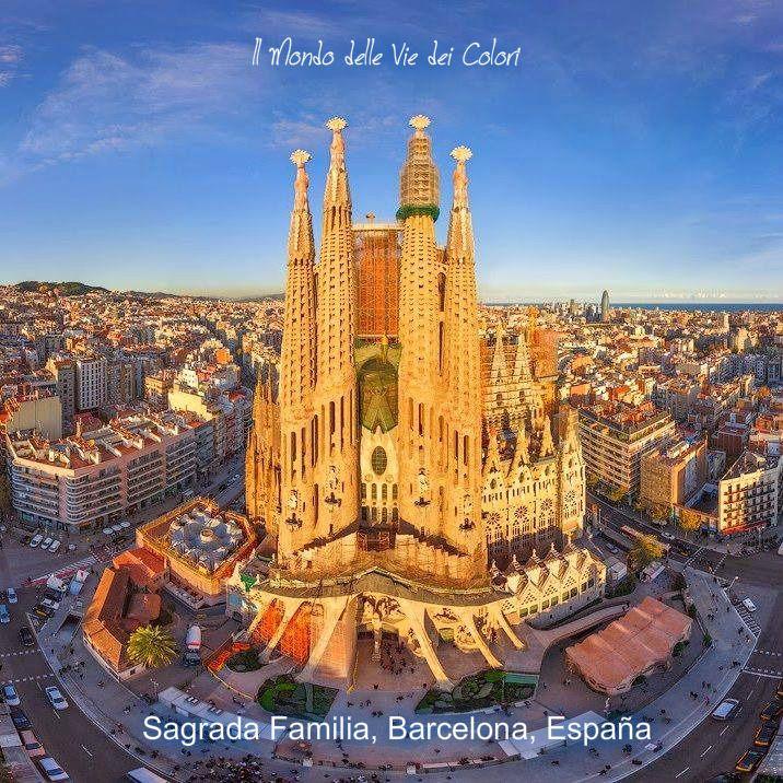 Sagrada Familia , Barcelona, España