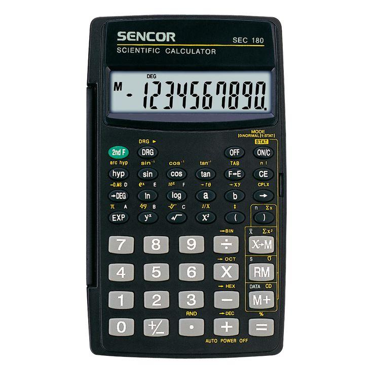 SEC 180 Scientific calculators, Calculator, Graphing