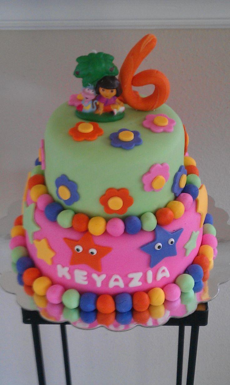 Cake Design Dora L Exploratrice : 17 Best images about Dora the Explorer party ideas on ...