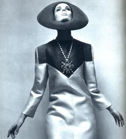 Lanvin, 1966.  I would look absolutely ridiculous in this, but it is cool to look at.