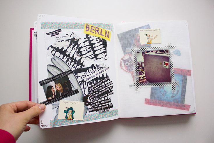 Erinnere-Dich-Geschenkbuch für deine Liebsten  Dieses Buch ist ein tolles Weihnachtsgeschenk  alle Erinnerungen, wie Konzertkarten, Fotos, Stadtkarten, Postkarten etc. zusammen tragen & in ein Buch kleben! Umso bunter umso besser  das Buch ist eine tolle Geschenkidee für euren Partner, die Eltern oder die besten Freunde