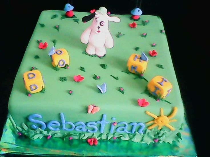 torta de chocolate con la figura de Doki, pedidos en https://www.facebook.com/MuffisYPonquesPasteleria