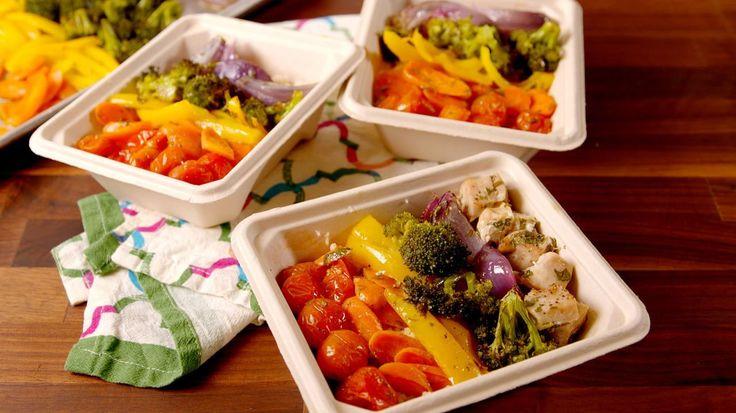 Rainbow Chicken & Veggies Makes Meal Prep Totally Worth It  - Delish.com