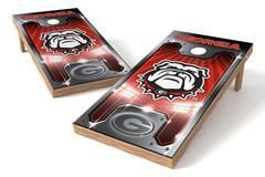 Georgia Bulldogs Single Cornhole Board - Plate