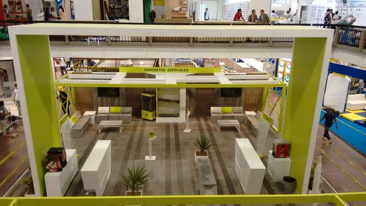Stand Argos Expoconstrucción  y Diseño 2015