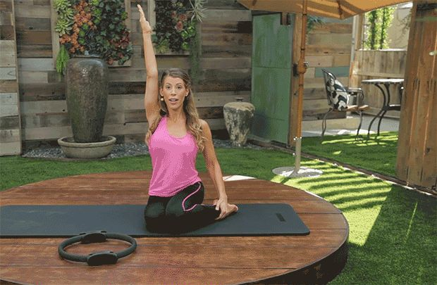 DailyBurn Pilates Workout: The Mermaid