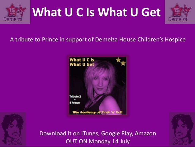 A song for Prince - in support of Demelza Children's Hospice by Peter Cook via slideshare