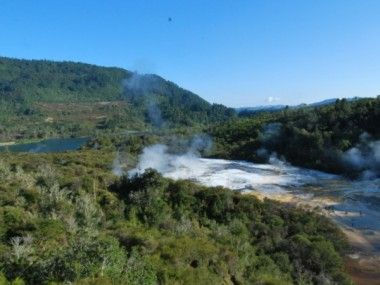 Somewhat 'off the beaten track', The Hidden Valley of Orakei Korako lies nestled between Taupo and Rotorua, NZ