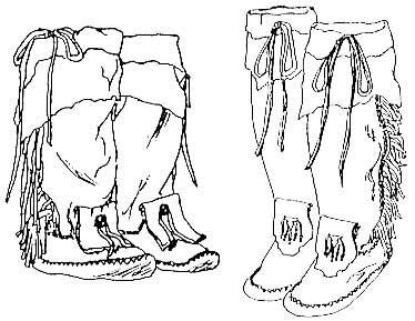 free tall leather moccasin patterns   Moccasin Pattern