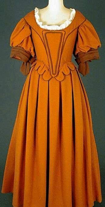 Le costume féminin de 1610 à 1660: