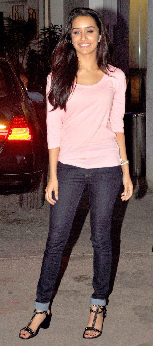 Shraddha Kapoor at special screening of 'Ek Villain'. #Style #Bollywood #Fashion #Beauty