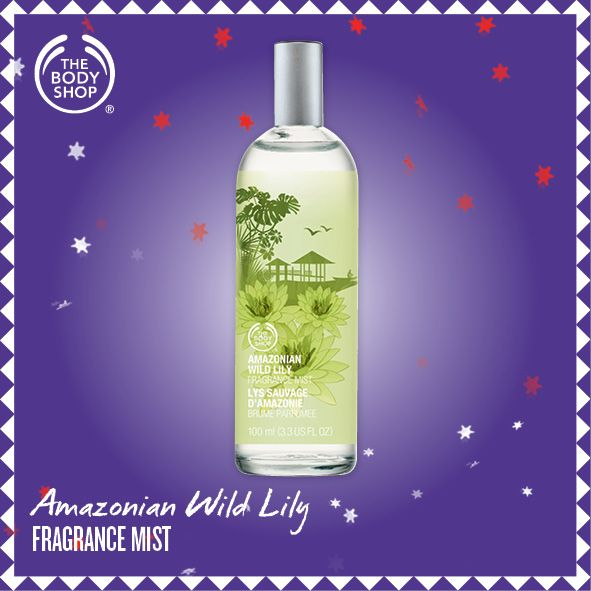 Amazonian Wild Lily Fragrance Mist