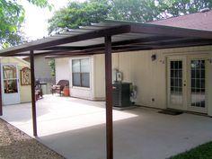 Attached Lean To Patio Cover North West San Antonio - Carport Patio ...