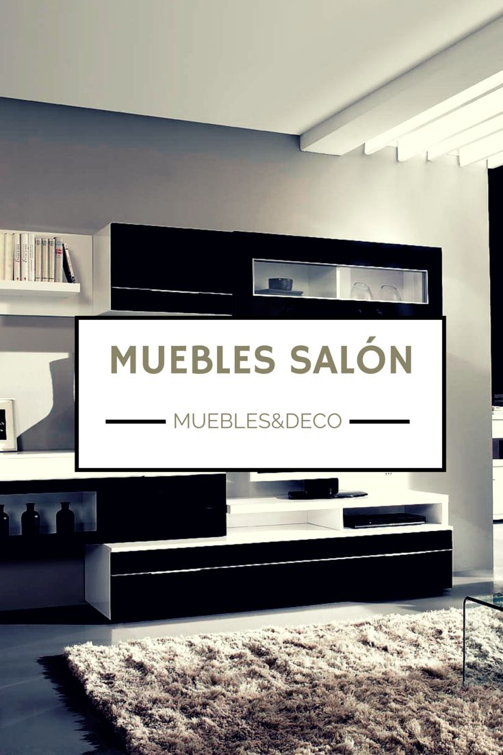 29 best images about muebles de sal n on pinterest mesas for Muebles de salon negros