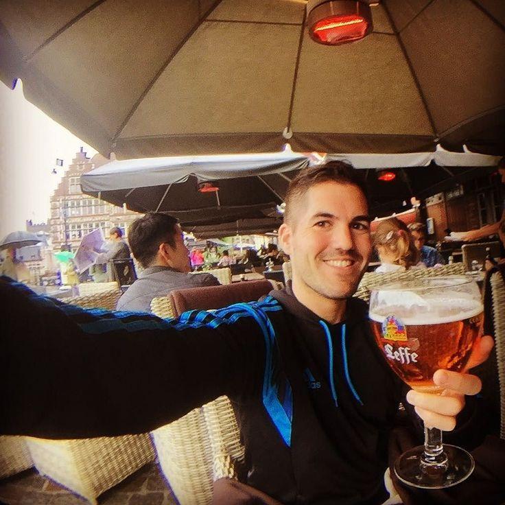 Leffe beer time! #Gent #Gante #Belgium #Belgica #beers #cerveza @leffe.belgium