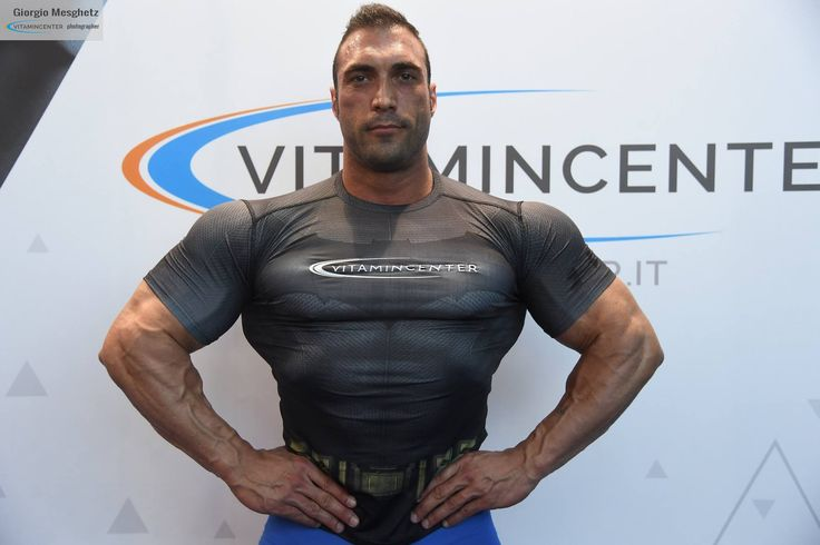Marco Sapigni #teamVitaminCenter #RW16 #riminiwellness #fitness #bodybuilding #italia