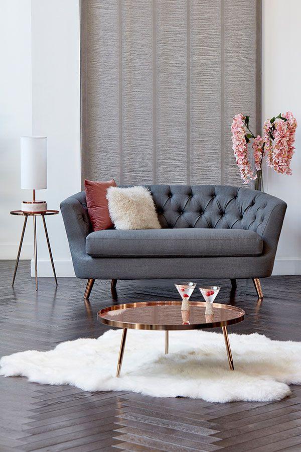Borgen Two Seat Sofa Slate Slate Sofa Sofa Seating
