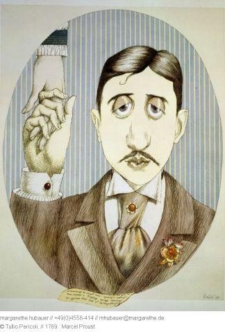 1987 // 1769 : Marcel Proust - Tullio Pericoli