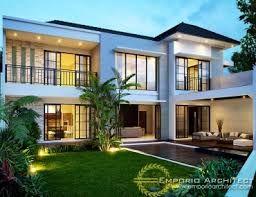 Hasil gambar untuk gambar rumah tropis modern 1 lantai 3 kamar tidur