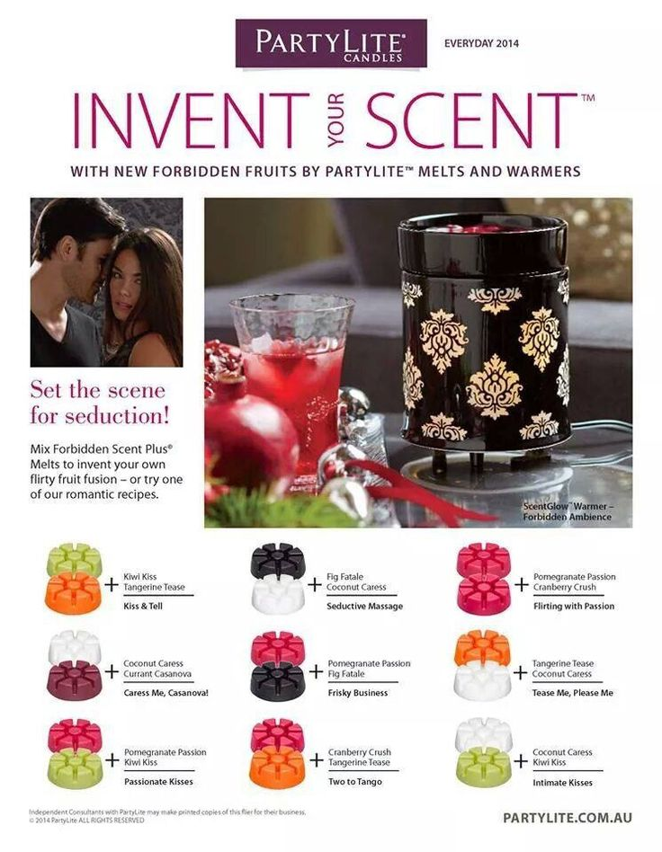 Invent Your ScentGet Glo warmers and your PartyLite collection for free... ask me how at www.debrafricke.partylite.com.au Independent PartyLite Consultant...