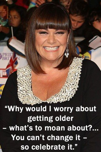 I've been compared to Dawn French..&this is why I totally take it as a  compliment
