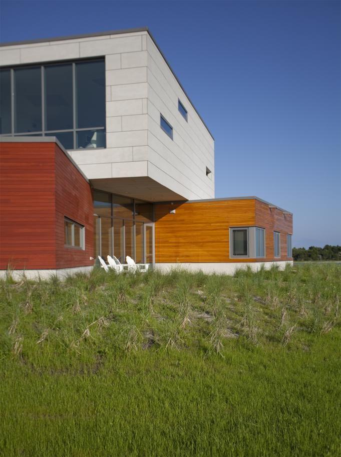 Duke University Marine Laboratory. arch: GLUCK+ facade materials by EQUITONE equitone.com