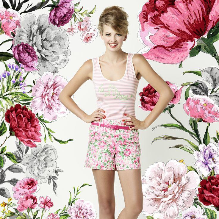 The La Vie En Rose Top & Sweet Romance Short