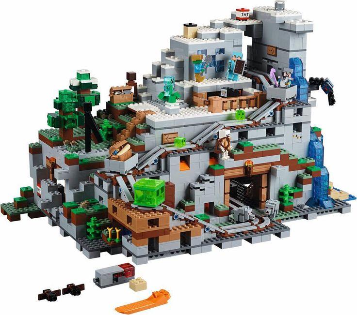 21137 - LEGO Minecraft Hegyi barlang