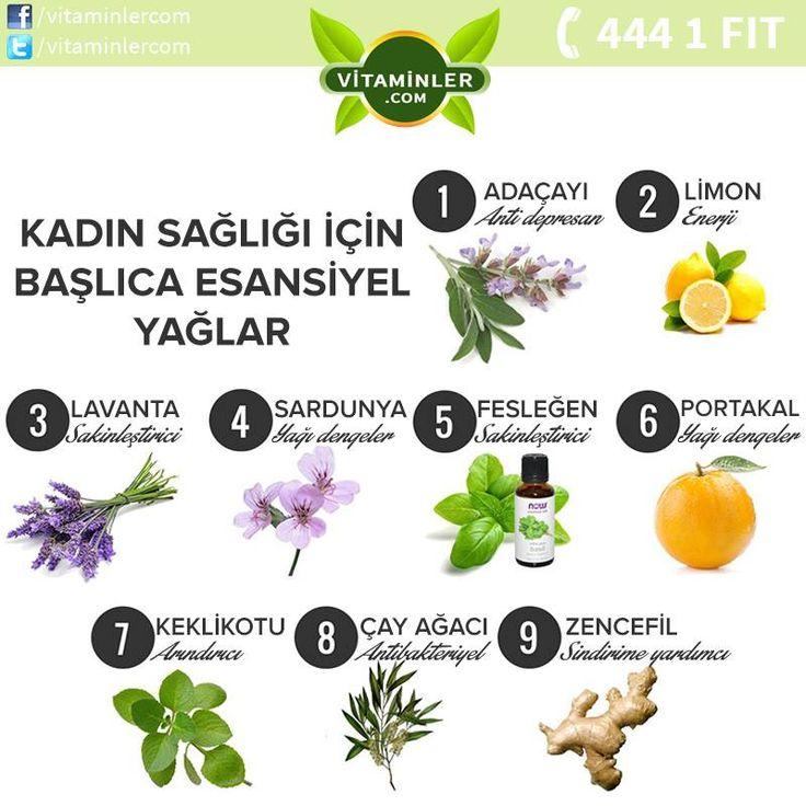 Kadın sağlığı için başlıca esansiyel yağlar. Bu postu lütfen paylaşın ve tüm dostlarınızın bu bilgilerden haberlerinin olmasını sağlayın. Kendini İyi Hİsset #metabolizma #destekleyici #besin #sebze #meyve #vitamin #beslenme #bağışıklıksistemi #vitamin #balıkyağı #omega3 #sağlık #diyet #health #sağlıklıyaşam #antioksidan #bitkisel #doğa #cvitamini #eklem #eklemağrısı #mineral #sindirim #probiyotik #glukozamin