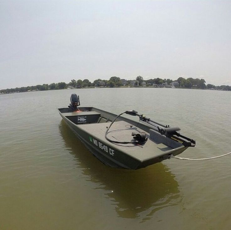 Casting platform on jon boat