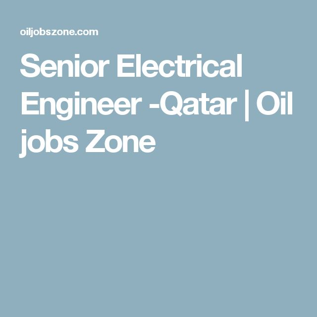 Electrical Design: Electrical Design Engineer Jobs In Qatar