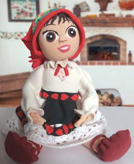 figurina pentru tort traditionala