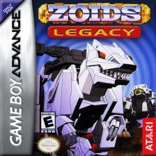 Zoids Legacy Nintendo Game Boy Advance cover artwork