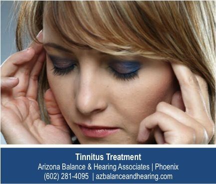 http://www.azbalanceandhearing.com/caring-for-hearing/specialized-tests-for-hearing/ – Tinnitus doesn't have to rule your life. There are new treatments and therapies shown to be very effective at reducing the constant ringing and buzzing. Ask how the tinnitus experts at Arizona Balance & Hearing Associates can help.