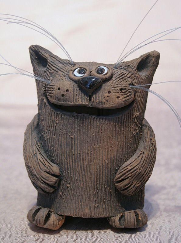Кот с усами, колокольчик