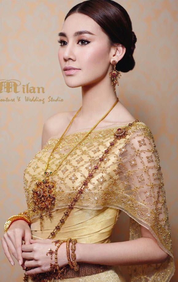 17 Best Images About Thai Wedding Dress On Pinterest
