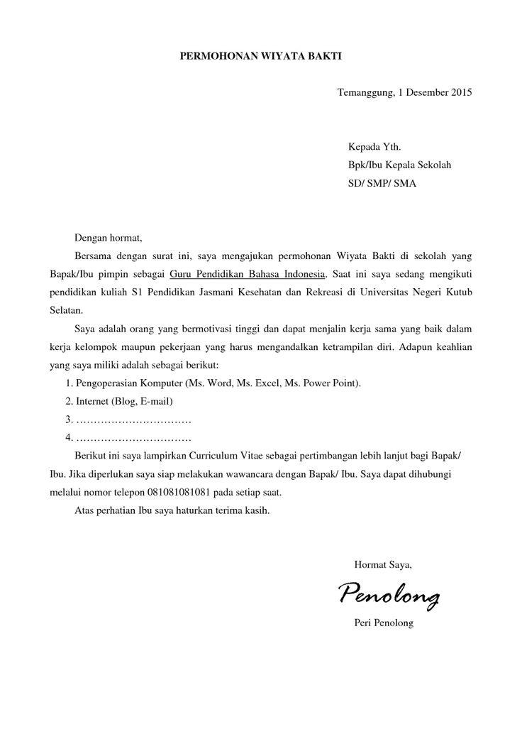 Application Letter Artinya Memorable Fun Tk