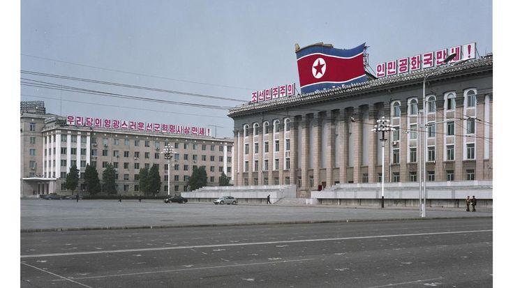 Maxime Delvaux fue a Corea del Norte, lo cual no es muy fácil para un fotógrafo.