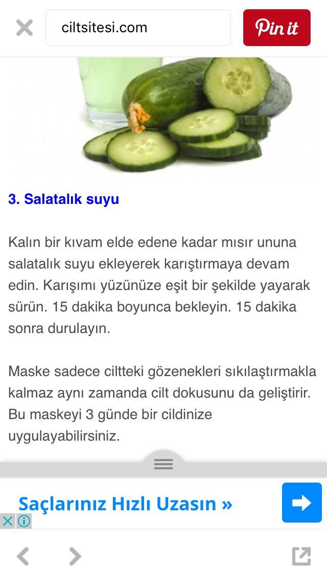 Salatalık suyu