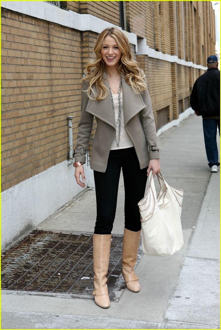 I Want the Jacket of Blake Lively!