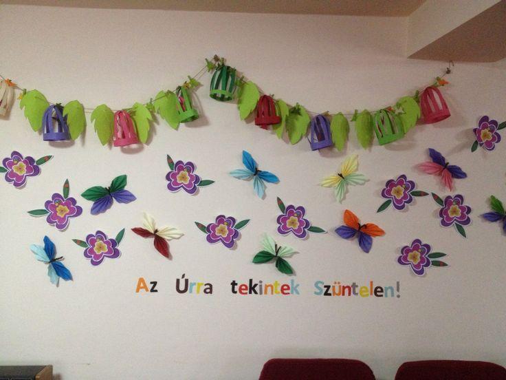 School wall decoration