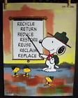 DiscovercollectiblePeanuts Posters featuring Snoopy, Woodstock, Charlie Brown, and the Peanuts comic by Charles M. Schulz.