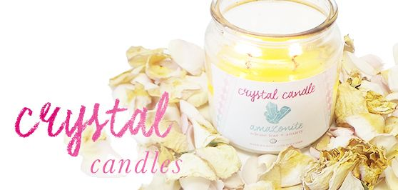 Tiny Devotions Crystal Candles