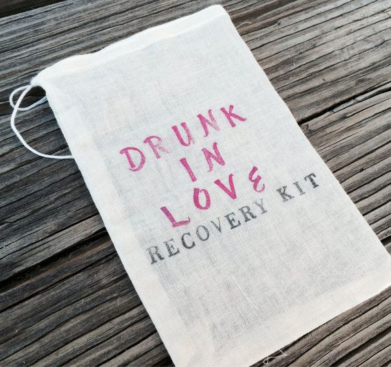 10 Hangover kits recovery kit bachelorette by EverlongEvents